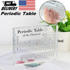 Acrylic Periodic Table Display of Elements Home Decor School Teaching Chemistry