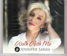 (HH630) Jennifer Saran, Walk With Me - 2016 Sealed CD