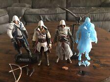 NECA Mcfarlane Assassins Creed Lot Altair Ezio Connor Loose Action Figures