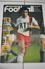 FRANCE FOOTBALL 2052 6 AOUT 1985 ROCHETEAU BUNDESLIGA FOFANA DIVISION II
