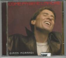 CD GIANNI MORANDI : COME FA BENE L'AMORE 2000 BMG RICORDI NUOVO  NON  SIGILLATO