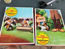 Vintage Whitman 48 Piece Jigsaw Puzzles ' The Wombles of Wimbledon Common ' 1974