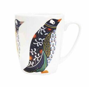 PENGUIN Paradise Birds MUG Fine China 400ml Churchill NEW Oak Shape
