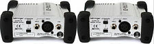 (2) New Behringer Ultra-DI DI100 Direct box 3 Year Warranty! Auth Dealer
