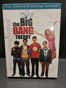 Big Bang Theory Complete Second Season - 4 X DVD Brand New SEALED