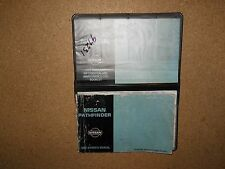 1997 NISSAN PATHFINDER OWNERS MANUAL AND CASE WITH ADDITIONAL LITERATURE