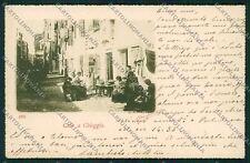 Venezia Chioggia Merletti Ricamo cartolina QK2892
