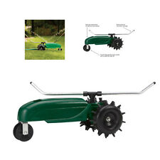 New Orbit 58322 Traveling Sprinkler Lawn Yard Water Hose Tractor