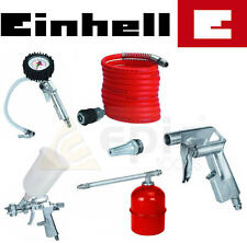 Einhell Air Compressor Tool Kit Blow/Spray/Oil Gun,Tyre Inflator,Hose EINAIR5KIT