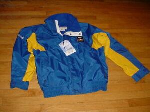 RARE 2002 Winter Olympic Salt Lake NBC Crew Jacket Coat By Columbia Men L New!