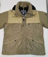 Mens PostCard Winter Jacket Insulated with Hood Sz 44 2XL Made in Italy Quality