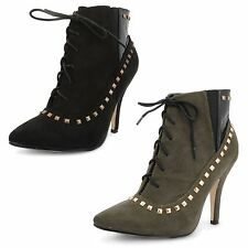 Dolcis Stiletto Faux Suede Casual Shoes for Women