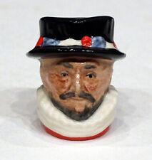 D6806 Rdicc Tiny Beefeater Vintage Royal Doulton Toby Jug Stein Character Mug