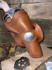 """Cross draw western holster for 5 1/2"""" single action vaquero, Peacemaker (AG10)"""