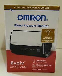 Omron Blood Pressure Monitor Evolv Upper Arm BP7000 Brand New Ships Free