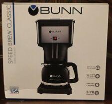 BUNN GR Black Speed Brew Classic Coffee Maker Black 10 Cup New Sealed