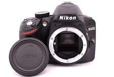Nikon D D3200 24.2MP Digital SLR Camera - Black (Body Only) - Shutter Count: 832