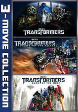 Transformers 3-Movie Set (DVD, 2016, 3-Disc Set)