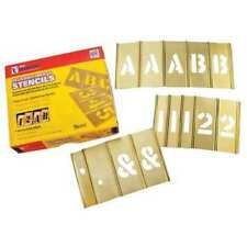 C.H. Hanson 10148 1 Inch Stencil Let. & Num. 92 Pc Set