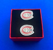 Montreal Canadiens Cufflinks Set Hockey Cuff Links Gift Idea (New)