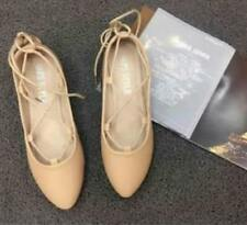Korean Lace Doll Shoes Nude (Size 37)