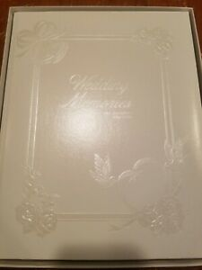 C. R. Gibson Co Embossed Wedding  Memories Book
