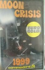 Moon Crisis 1999 (Eurogold 1986) Commodore 64 (Tape Box Manual) works
