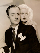 Last Love, Jean Harlow & William Powell, Orig 8x10 Period Photo, Not A Repro