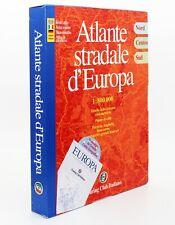 ATLANTE STRADALE D'EUROPA [COFANETTO 3 VOLUMI] [SCALA 1:800.000] TOURING CLUB