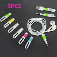 Cell Phone Headset Cord Protector Saver Cable Cover Headphone For Apple|IPhone