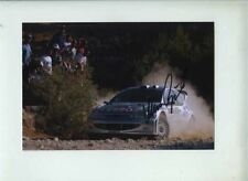 Marcus Gronholm Peugeot 206 WRC Cyprus Rally 2000 Signed Photograph