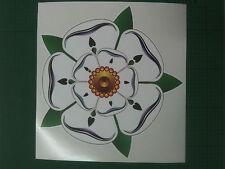 Yorkshire Rose Narrow boat / Caravan / Motor home  Vinyl Sticker 20 cms