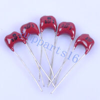 20pcs Silver MICA Capacitor 33pF 500V Radial Amp for Guitar Amplifier Radio