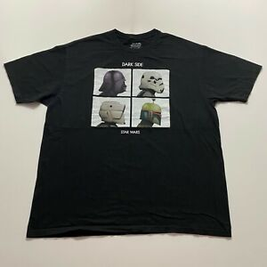 Star Wars Gorillaz T-Shirt Mens Size 2XL Black Retro Parody Band Funny
