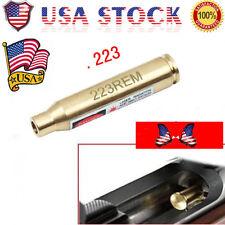 US CAL .223 REM Red Dot Laser Bore Sight  .233 Copper Cartridge Hunt Boresighter