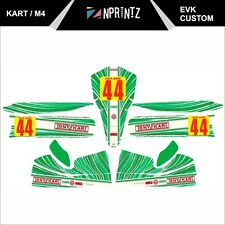 2013 TONYKART EVK STYLE CUSTOM FULL KART STICKER KIT - KARTING - OTK - EVK M4