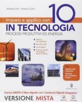 Impara e applica con 10 in TECNOLOGIA (4Tomi) Minerva scuola, cod:9788829840441