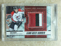 12-13 ITG H&P Heroes Prospects Game-Used Number SAM REINHART Black Version /6