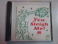 YOU SLEIGH ME 9 TRK PROMO XMAS CD TORI AMOS W/FACSIMILE AUTOGRAPHED INSERT COVER