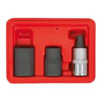 Sealey Tools VS0460 Brake Caliper Socket Set 3pc 1/2 Drive