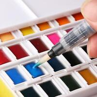 24/40 farben Solide Aquarelle Malen Zeichnung Box Pinsel Pigmen Z8N3 Tragba D5K3