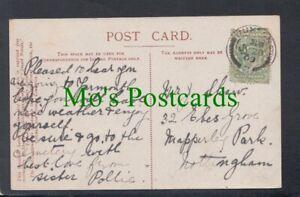 Genealogy Postcard - Shaw - 32 Ebers Grove, Mapperley Park, Nottingham RF6452