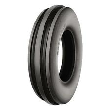 One 6.00-12 Firestone 3-Rib Front Farm Tractor Tire & Tube Made in USA