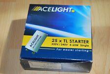 25 Stück Starter für Leuchtstofflampen  ACELIGHT  -  4...65 W