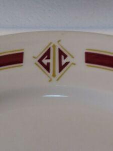 "Interlachen Country Club 1968 10"" Plate Shenango China Restaurant Ware Edina MN."