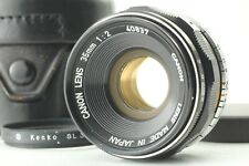 Canon 35mm F/2 Leica w/ Filter LTM L39 Screw Mount MF Wide Angle Lens From Japan