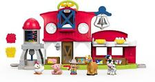 Farm Animal Play Set Little People Songs Sounds Kids Toddler Boy Girl Gift New