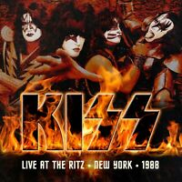 Kiss Live at the Ritz New York 1988 Limited Edition Red Vinyl 3 LP Box Set