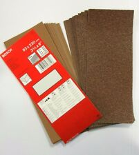 Bosch Assorted Grit Sanding Sheets 93mm x 230mm Pack of 25