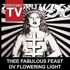 PSYCHIC TV Thee Fabulous Feast Ov Flowering Light CD 2014 LTD.1000